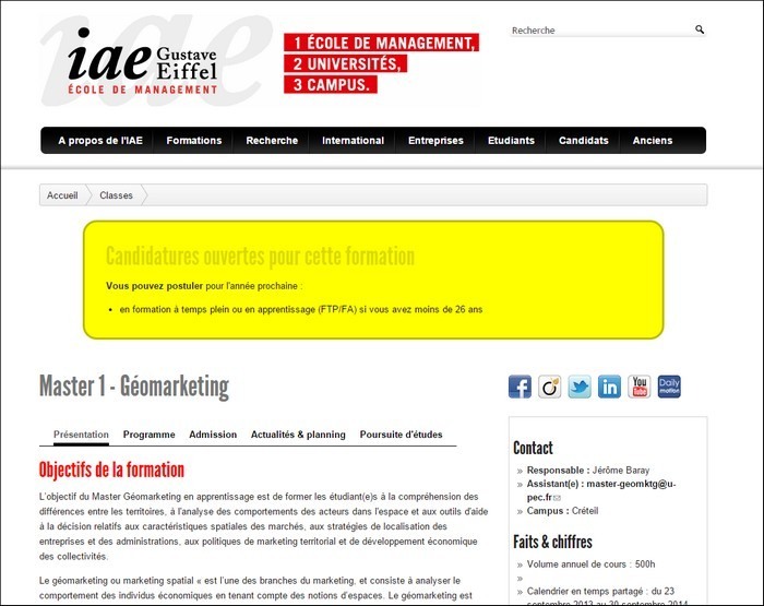 Master g omarketing la revue des sciences des gestion for Revue marketing