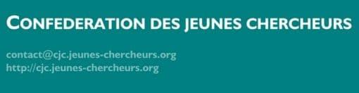 CJC Confédération des Jeunes Chercheurs